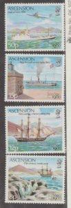 Ascension Island Scott #257-260 Stamp - Mint NH Set