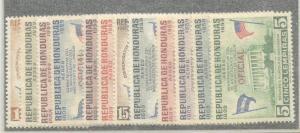 Honduras   #CO98-109  MNH  (1959)  c.v. $8.95