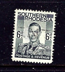 Southern Rhodesia 46 Used 1937 issue