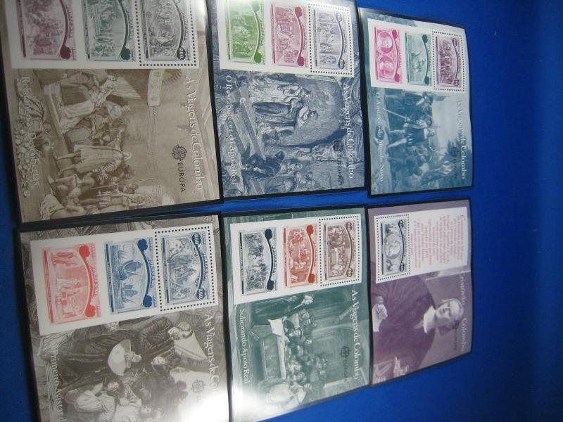 PORTUGAL  SCOTT #1918-1923  VOYAGES OF COLUMBUS  S/S  MNH