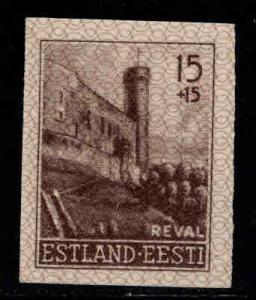 Estonia Scott NB1  MNH** 1941 Imperforate stamp
