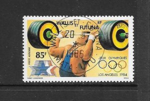 WALLIS & FUTUNA #C130  SUMMER OLYMPICS  CANCELLED