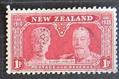 New Zealand, 1935, The 25th Anniversary of the Reign of King George V(№1384-T)