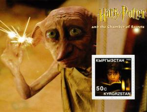 Kyrgyzstan 2002 Harry Potter s/s Perforated mnh.vf