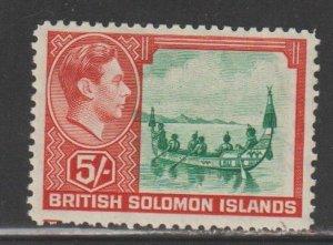 Solomon Islands   SC 78  Mint Lightly Hinged