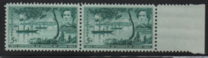 MNH pair # 1021 Centennial of opening of Japan