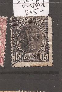 Romania SC 152 perfin VFU (3azh)
