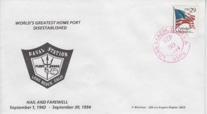 1994 Disestablishment of Naval Station  Long Beach Nitchman