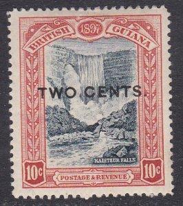 British Guiana Sc #158 MH; Mi #104