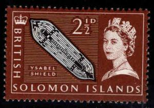British Solomon Islands Scott 132 MH* stamp
