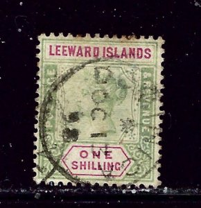 Leeward Is 7 Used 1890 issue  some perf stains