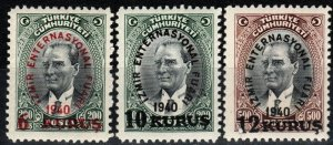 Turkey #848-50 MNH CV $5.00 (X7722)