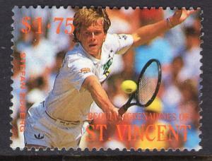 St Vincent Grenadines Bequia 264 Tennis MNH VF