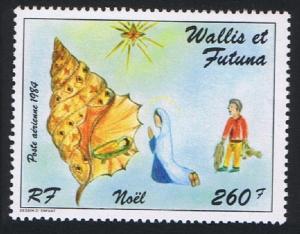 Wallis and Futuna Spider Conch Shell Christmas 1984 MNH SG#457 SC#139