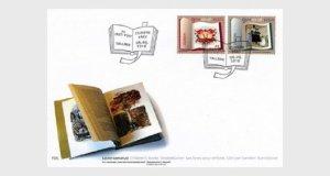 2010  ESTONIA  -  SG: 618 / 619  -  EUROPA  -  CHILDRENS BOOKS - FIRST DAY COVER