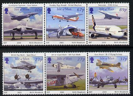 Isle of Man 2003 Centenary of Powered Flight perf set of ...