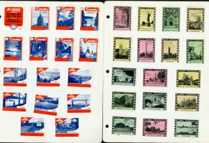 Canada Labels 48x Diff 1940's Vintage on page