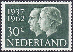 Netherlands # 390 mnh ~ 30¢ Queen Juliana and Prince Bernhard