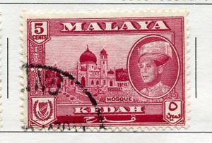 Malaya Kedah USED H Scott Cat. # 98