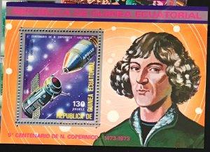 Equatorial Guinea #MiBl93 MNH S/S CV€7.00 Kopernikus