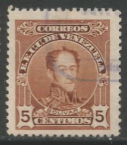 VENEZUELA 269 VFU BOLIVAR X868-6