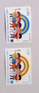 UN, Geneva - 84-85, MNH Set. Int. Year of Child. SCV - $1.00