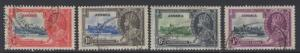 JAMAICA SG114/7 1935 SILVER JUBILEE FINE USED
