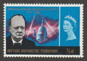 16 British Antarctic Territory - Winston Churchhill