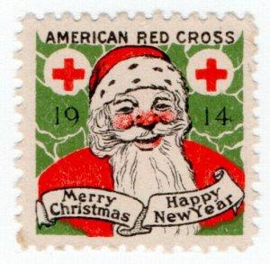 (I.B) US Cinderella : Red Cross Christmas Seal (1914)