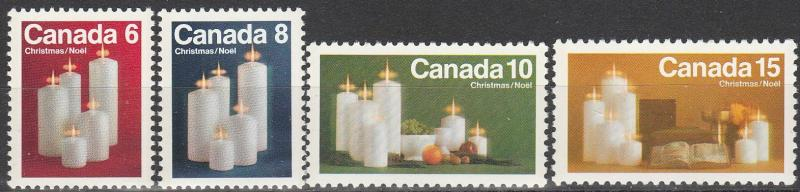Canada #606-9 MNH  (S3554)
