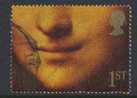 Great Britain SG 1557 -  Used  - Greetings Booklet Smiles