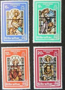 Gibraltar MNH 334-7 Christmas Holy Family 1976 SCV 2.05