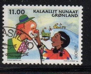 Greenland Sc 396 2002 Europa stamp used