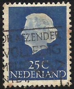 Netherlands 1953 Scott# 348 Used