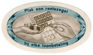 (I.B) Netherlands Cinderella : National Insurance Label (Payment Card)