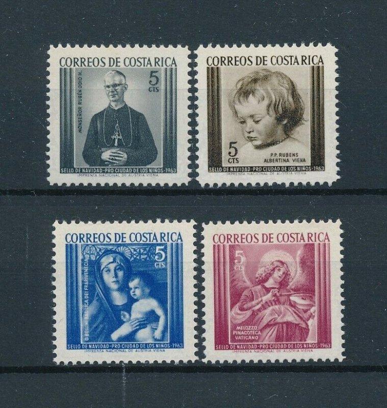 [104149] Costa Rica 1963 Postal tax children's village Christmas Rubens  MNH
