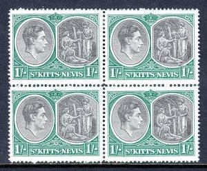 St. Kitts and Nevis - Scott #86 - Block/4 - MH/MNH - SCV $12