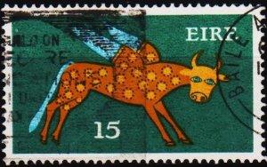 Ireland. 1971 15p S.G.356 Fine Used