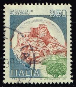 Italy #1423 Mussomelli Castle; Used (0.25)