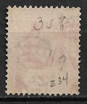 1921 Ceylon Sc234  King George V 12c used