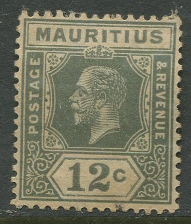 STAMP STATION PERTH Mauritius #153 KGV Definitive Mint CV$10.00