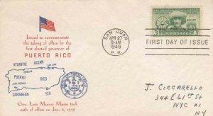 983 3c PUERTO RICO ELECTIONS - Sanders cachet