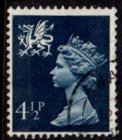 Wales - #WMMH4 Machin Queen Elizabeth II - Used