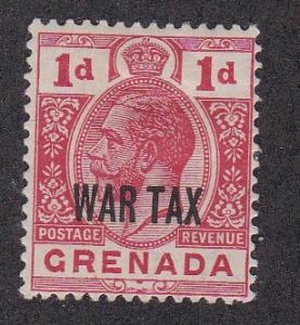 Grenada # MR2,  War tax Stamp, Hinged, 1/3 Cat.