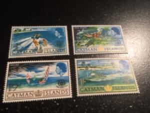 Cayman Islands sc 193-196 MNH comp set