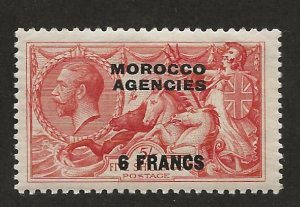 GREAT BRITAIN OFFICES - MOROCCO SC# 419  FVF/MOG 1932