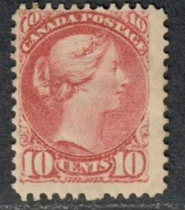 $Canada Sc#40 M/H/F, regummed, gum creases, Cv. $1600