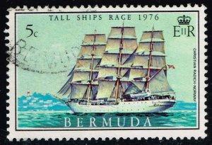 Bermuda #337 Christian Radich of Norway; Used (0.25)