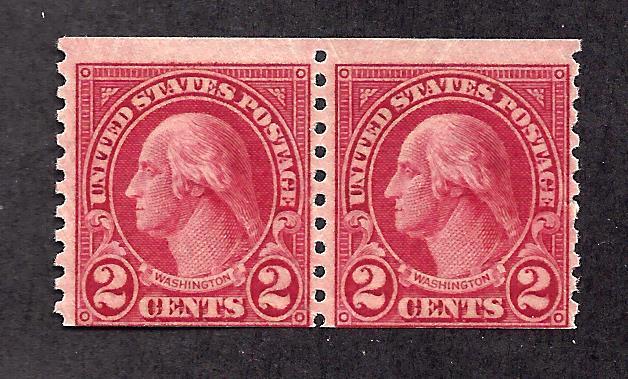 599A Mint,OG,LH/NH... Pair... SCV $300.00
