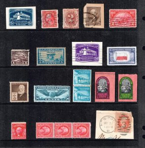 US STAMP # BOB REVENUE ACCUMULATE STAMP COLLECTION LOT  #F2